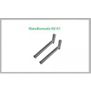 Wandkonsole K0 430mm für Schornsteinsets 180mm DW