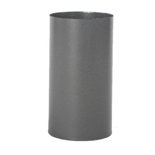 Pellet- Ofenrohr Schornsteinanschluss DN 80mm gussgrau emailliert