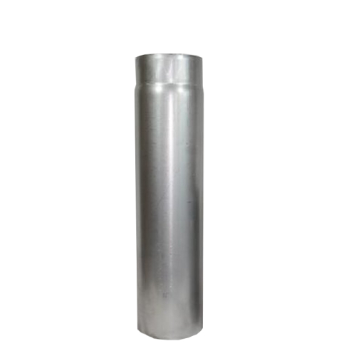 Ofenrohr Rauchrohr 1,00m DN 130mm unlackiert 2mm