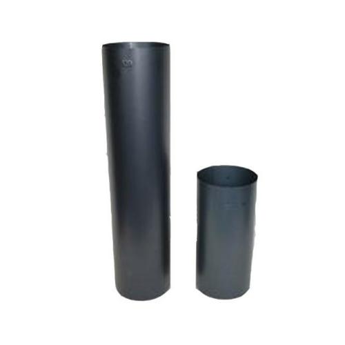 Ofenrohr Rauchrohr 120mm 0,5m x 0,5mm gebläut Kaminrohr