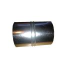 Verbinder für Aluflexrohr 50-250mm verzinkt