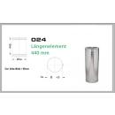 Längenelement 440mm für Schornsteinsets 200mm DW6