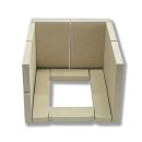 Vermiculite Ausmauerung passend für Giessen /...