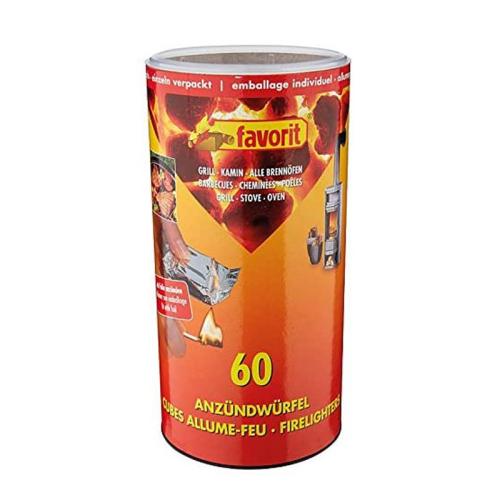 Zündwürfel 60 Stück einzeln verpackt #1248
