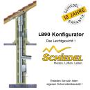 Schiedel LB90 Leichtbauschornstein Konfigurator...