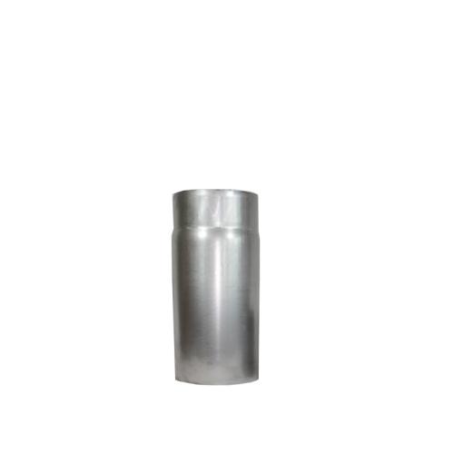 Ofenrohr Rauchrohr 0,25m DN 130mm unlackiert 2mm