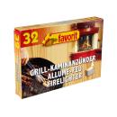 Favorit weiße Grill- und Kaminanzünder 32...