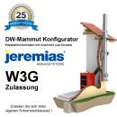 Jeremias DW-Mammut Konfigurator mit W3G Zulassung