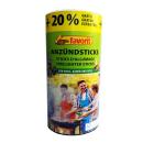 Naturholz / Wachs Anzünder Sticks 120 Stück #1257