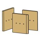 Ausmauerung Vermiculite passend für Kaminofen Pardo...