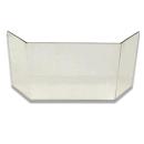 Glasscheibe komplett passend für Kaminofen Topas...