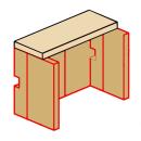 Ausmauerung Vermiculite passend für Kaminofen Zirkon...